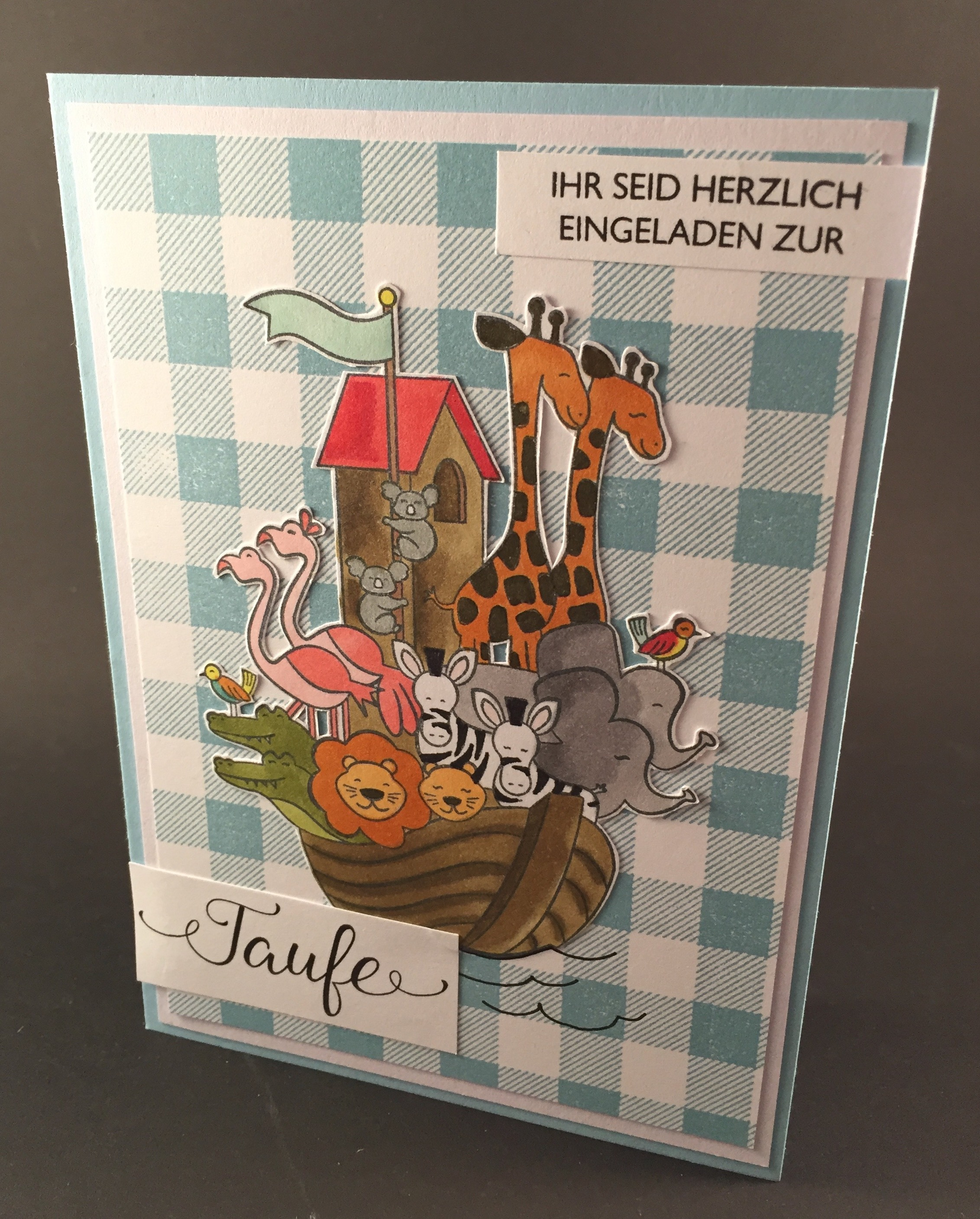 Stampin up - Einladungskarte - Perfectly Paired.jpeg